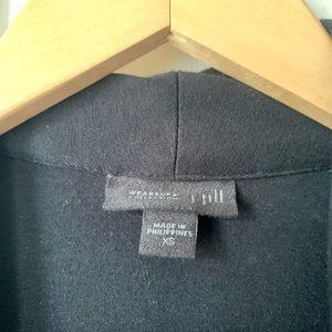 J. Jill Tops - Simple black cardigan